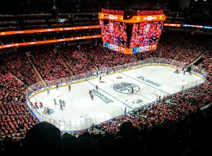 Oilers vs Ducks- Game 4 - Sec 206, Row /pair