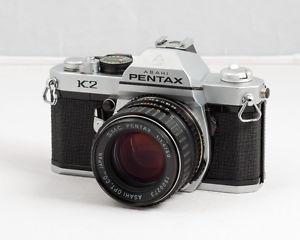 Pentax K2 SLR w/ 50mm F/1.4 SMC Asahi Lens