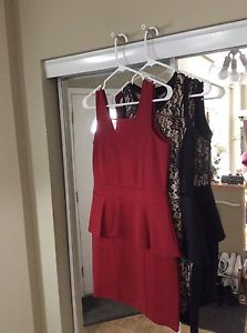 Peplum dresses size small from Lulus online