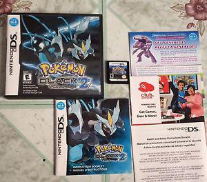 Pokemon black version 2 $40 /trades