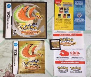 Pokemon heartgold version $60 firm