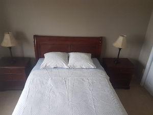 Queen bedroom set!