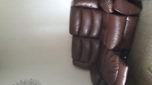 Recliner sofa and love seat