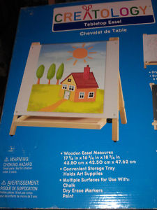 Table top easel, by creatology.