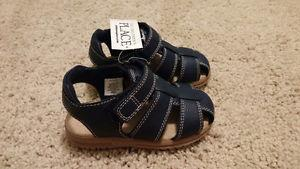 Toddler boy sandals - size 7 - brand new with a tag!