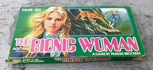 Vintage  Parker Brothers The Bionic Woman Board Game