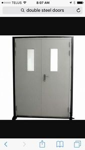 Wanted: Looking for double steel doors and frame