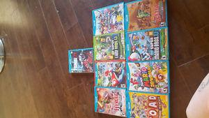 brand new Wii u with 4 controllers and 9 games