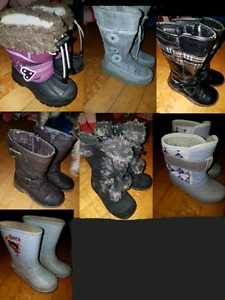 size 8 girl boots