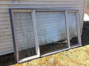 3 pane window - good for camp