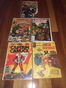 5 comic books