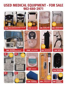 A variety of Medical Equipment especially for COPD or