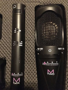 ART M2 and M6 Mic package with case