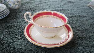 Aynsley English bone china cups and saucers