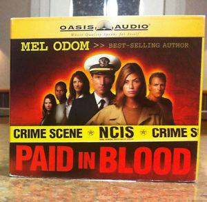 """Book on CD: """"Paid in Blood-NCIS"""" by Mel Odom"""