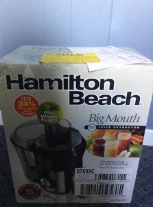 Brand new Hamilton Beach Big Mouth Juice Extractor