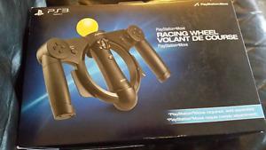 Brand new PlayStation racing wheel
