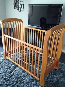 Morigeau Lepine Crib Sleigh Bed Style Quality Posot Class