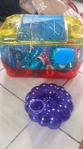 CritterTrail Starter Cage + extras
