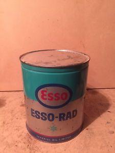 Esso Rad 1 gallon can