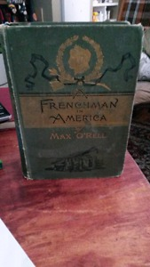 Frenchman in America  by Max O'Rell