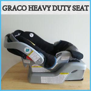 GRACO MY RIDE HEAVY DUTY INFANT CAR SEAT - BASE CAN BE