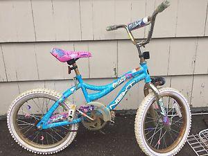 """Girls 18"""" bike"""