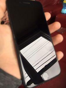 Jet black 128 gb iPhone 7