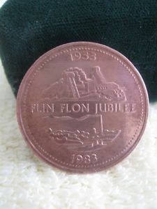 "LARGE HEAVY ""FLIN FLON JUBILEE [ to ] COLLECTOR'S"