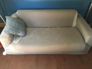 Love seat-With slip cover