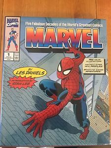 Marvel Five Fabulous Decades of the worlds greatest comics