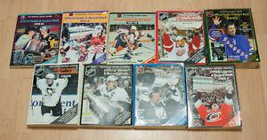 NHL Official Guides & Record Books (s - s)