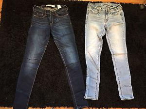 Never worn brand name women's jeans