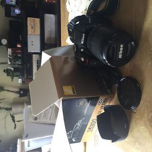 Nikon D with mm/ VR lens plus extras