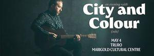 One ticket to City and Colour (Solo) Tour - Truro