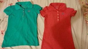 POLO STYLE SHIRTS FROM AEROPASTALE NEW