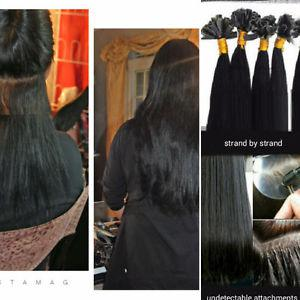 "Pack of 20"" pre bonded Remi Human Hair Extensions Free"