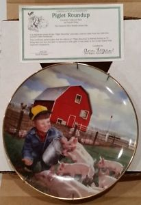 Piglet Roundup Collector Plate