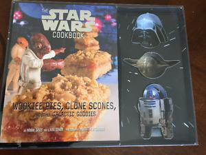 Star Wars cookbook and cookie cutter set