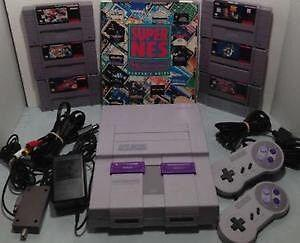 Wanted: Looking for a Super Nintendo with games