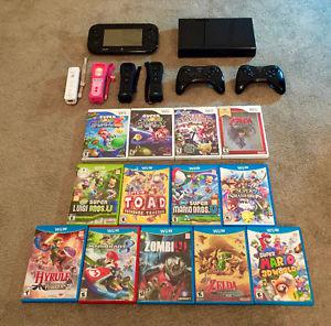 Wii / Wii U Games, Accessories, and Console