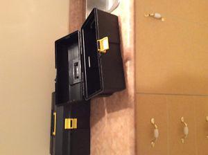 2 heavy duty plastic tool boxes