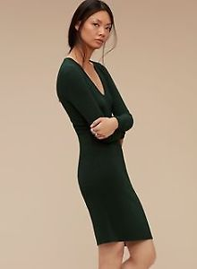ARITZIA WILFRED DRESS SIZE SMALL IN GREEN