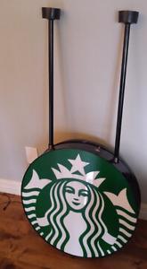 Authentic Starbucks light up sign