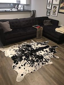 Authentic cow hide rug!