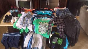 BOYS LOT OF CLOTHES
