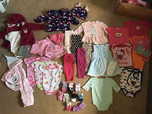 Baby / Girls Clothes 3-6m.