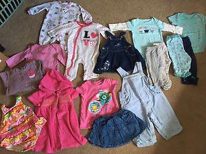 Baby / Girls Clothes 6-9m.