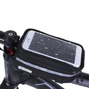 Bicycle Bike Frame Phone Bag - Black