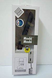 Black Moshi Travel Handset for iPhone (Or Any Cell Phone)